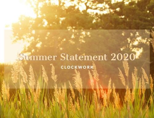Summer Statement 2020