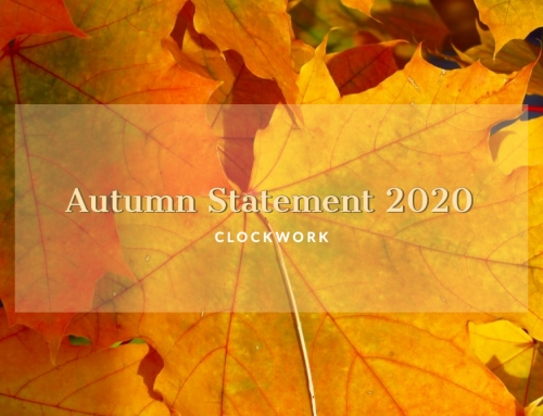 Clockwork Autumn Statement 2020